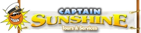 St Kitts tours and island safaris with Captain Sunshine Tours. Captain Sunshine Tours header image.