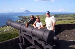St Kitts tours and Island Safaris with Captain Sunshine Tours. St Kitts photo of Captain Sunshine Tours St Kitts Brimstone Hill Fortress National Park Tour