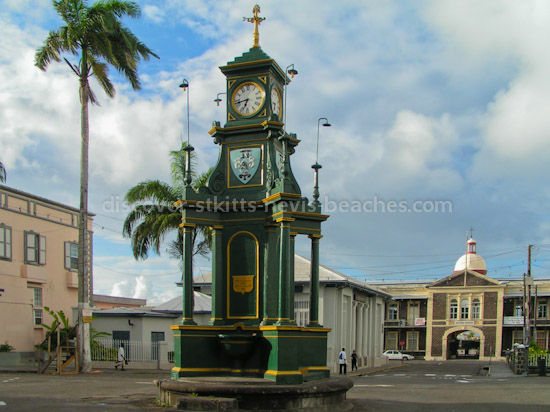 Photo of the Berkley Memorial in Basseterre, St. Kitts