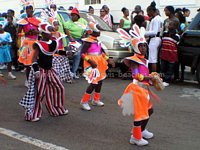 Click to see larger image of 2005 St Kitts Children Carnival Parade
