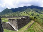 The Eastern Place of Arms at Brimstone Hill Fortress National Park, St. Kitts