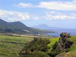 View towards Nevis from Brimstone Hill Fortress National Park, St. Kitts