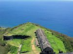 Orillon Bastion at Brimstone Hill Fortress National Park, St. Kitts