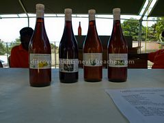 Locally made wines