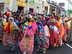 St Kitts folkore - the Clowns