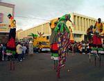 St Kitts folkore - the Moco Jumbies