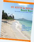 St. Kitts Nevis Beach Buzz newsletter/ezine cover