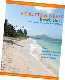 St Kitts Nevis Beach Buzz ezine cover image
