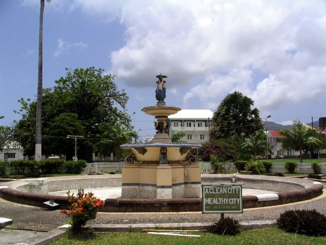 The Fountain at Independence Square