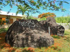Carib Petroglyphs at Wingfield Road