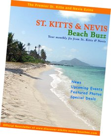 St Kitts Nevis Beach Buzz ezine cover image