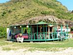 Photo of new Hanley's Sunset Beach Bar at South Friars Bay in St. Kitts